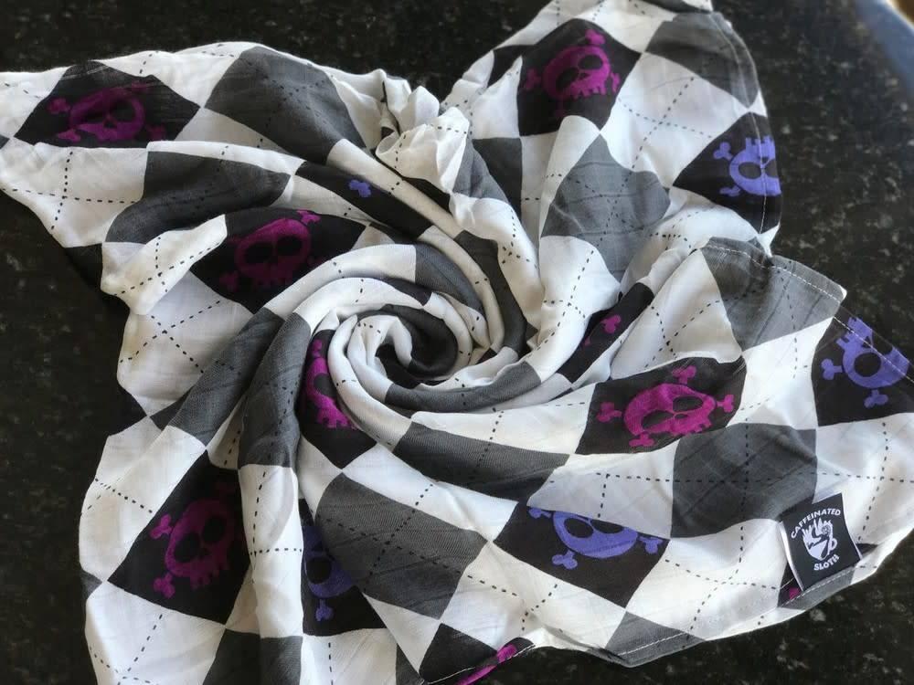 Austin Tie Dye Co Caffeinated Sloth Blanket