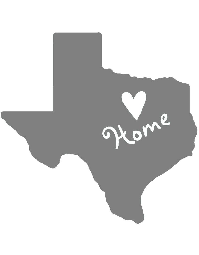 Nappy Shoppe Sticker - Texas Home Heart