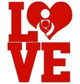 Nappy Shoppe Sticker - LOVE Babywearing