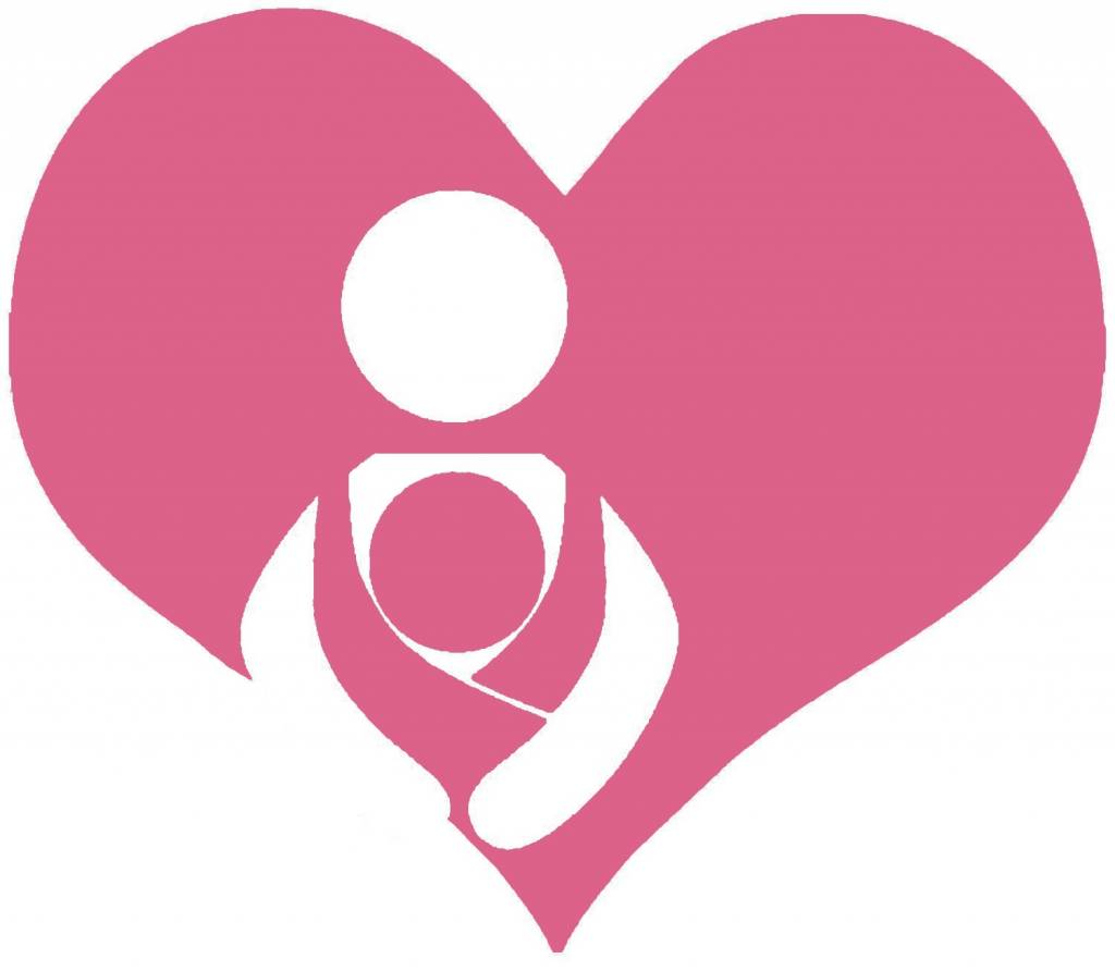 Nappy Shoppe Sticker - Babywearing Heart