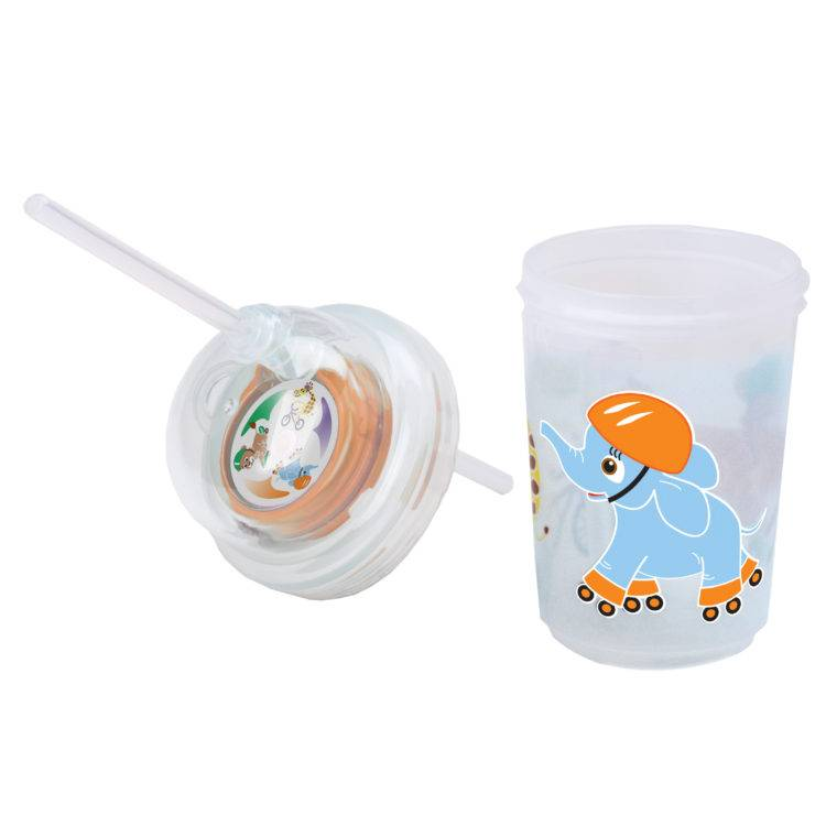 Zoomi Straw Cup with Extra Straw