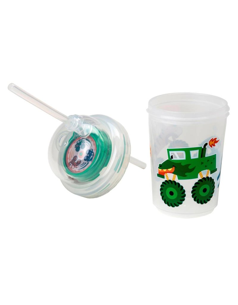 NuSpin Zoomi Straw Cup with Extra Straw