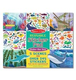 Melissa & Doug Under the Sea Reusable Sticker Pad