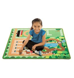 Melissa & Doug Round the Ranch Horse Rug
