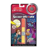 Melissa & Doug The Case of the Runaway Ruby Secret Decoder Set