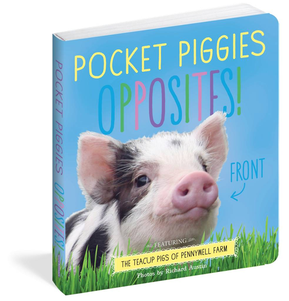 Workman Publishing Pocket Piggies Opposites
