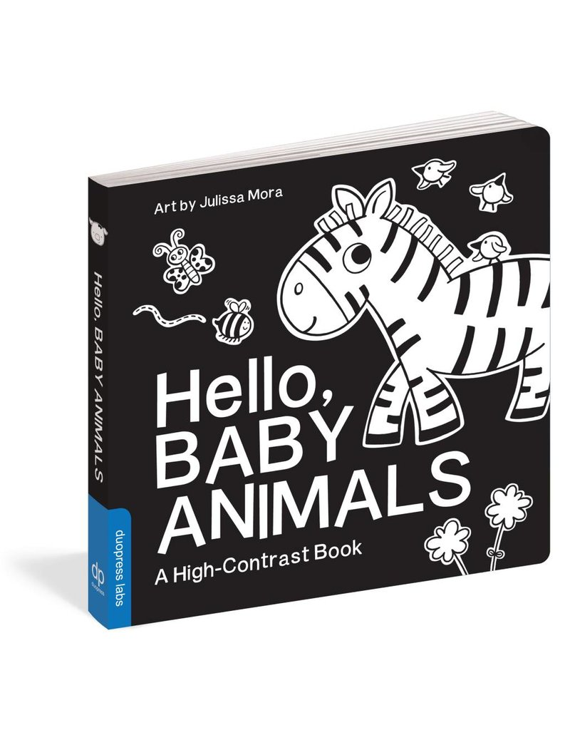 Workman Publishing Hello Baby Animals High Contrast Book
