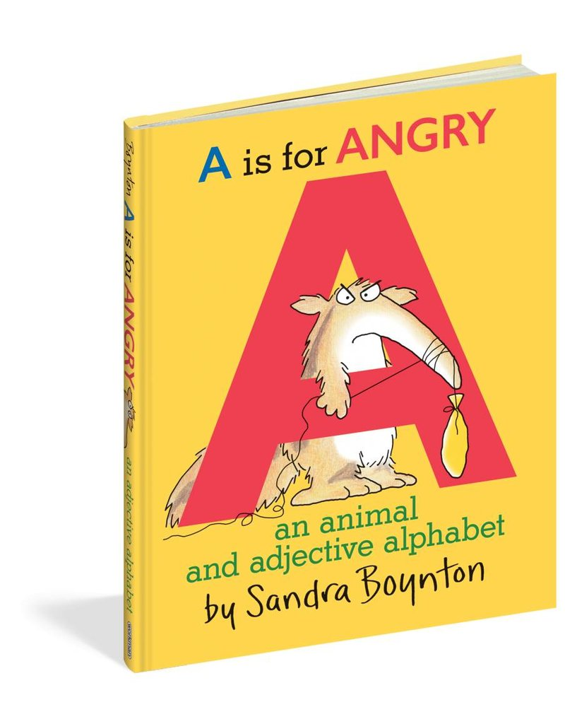 Workman Publishing A is for Angry