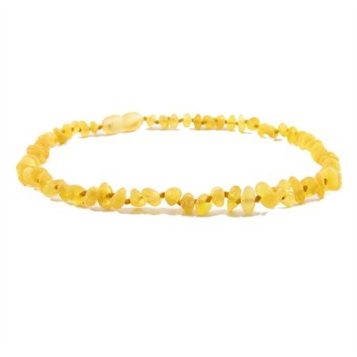 Amber Monkey Amber Monkey Necklace Baroque Raw Lemon 10-11 Inch
