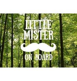 Nappy Shoppe Sticker - Little Mister on Board