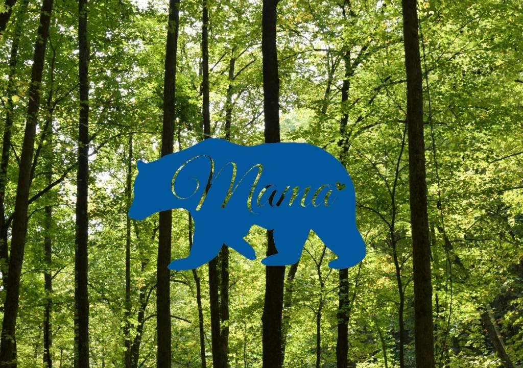 Nappy Shoppe Sticker - Mama Bear