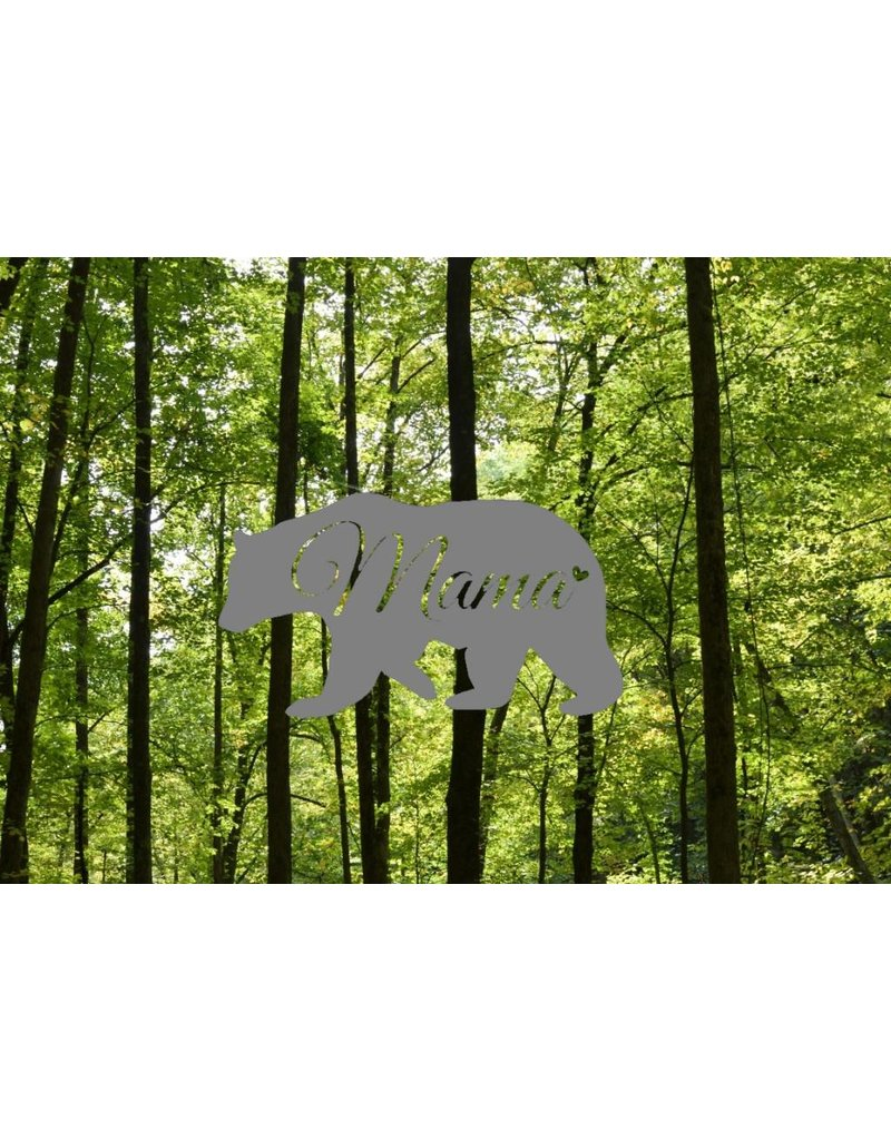 Nappy Shoppe Sticker - Mama Bear