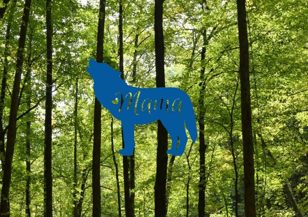 Nappy Shoppe Sticker - Mama Wolf