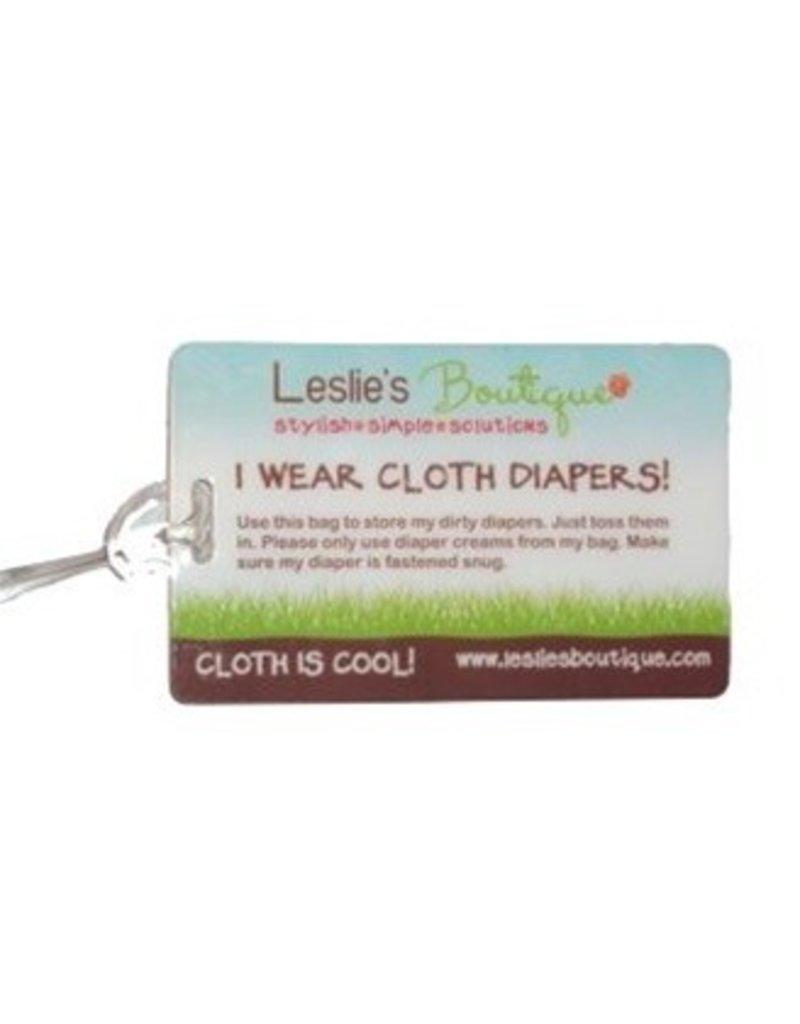 Cloth Diaper Care Luggage Tag