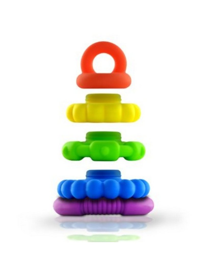 Jellystone Stacker Toy - Rainbow Brights