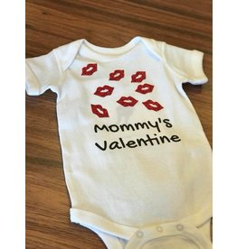 Nappy Shoppe Exclusives Onesie - Mommy's Valentine
