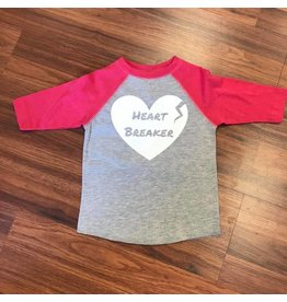Nappy Shoppe Exclusives Raglan T - Heartbreaker