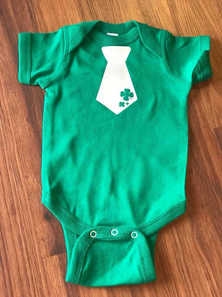 Nappy Shoppe Exclusives - St Patricks Onesie