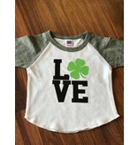 Nappy Shoppe Exclusives - St Patricks Raglan T