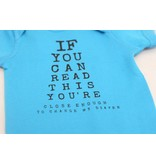 Nappy Shoppe If you can read this - Exclusives Onesie