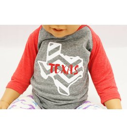 Nappy Shoppe Exclusives - Childs Raglan - Texas Chevron