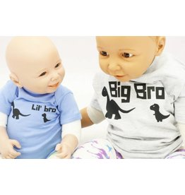 Nappy Shoppe Exclusives Onesies - Lil Bro