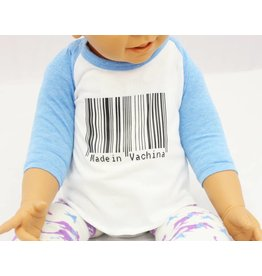 Nappy Shoppe Exclusives Raglan T - Made in Vachina