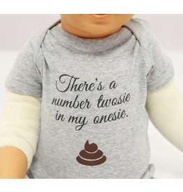 Nappy Shoppe Exclusives Onesies - There's a Twosie in my Onesie