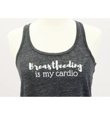 Nappy Shoppe Exclusives Racerback Shirt - Breastfeeding is my Cardio