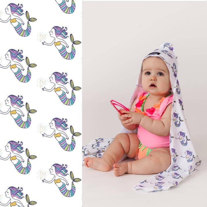 Luv Bug Sunscreen Towel with Hood