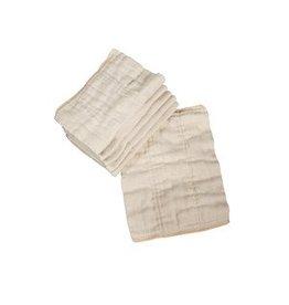Osocozy OSC Prefold Unbleached Cotton Size 1 - 7-15 pounds