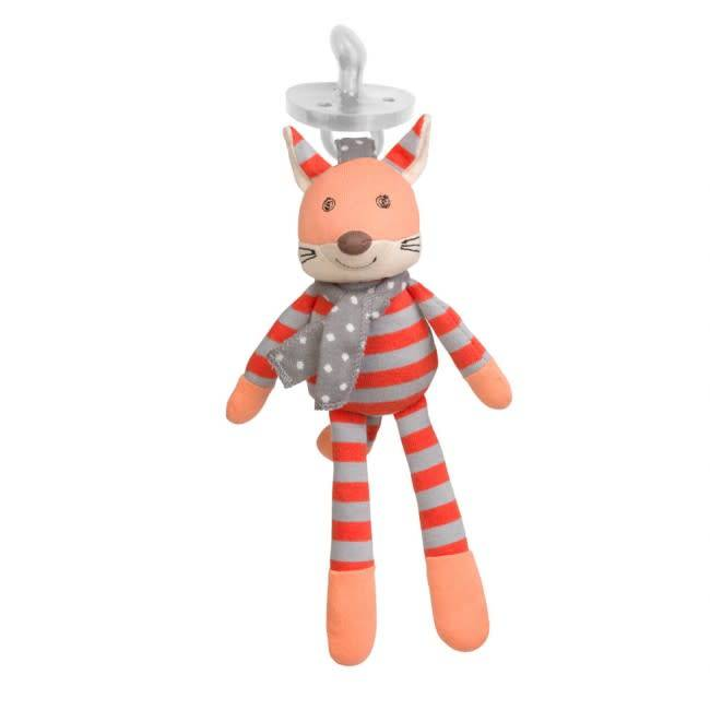 Organic Farm Buddies Frenchy Fox Pacifier Buddy