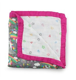 Rumparooz Kanga Care Serene Reversible Blanket