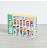 MyFamilyBuilders MY Family Builders Magnetic Wooden Shapes