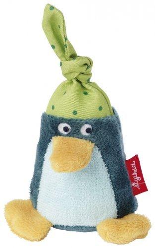 Sigikid Sigikid Penguin Rattle Green