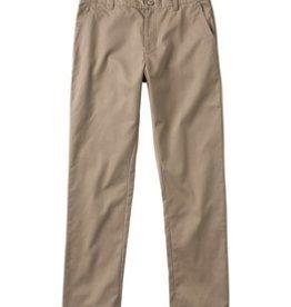RVCA RVCA The weekday stretch pantalon khaki