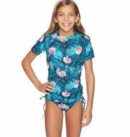 REEF Reef Wild Heart rashguard bikini