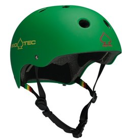 Pro-Tec Pro-Tec Classic certifie casque vert rasta