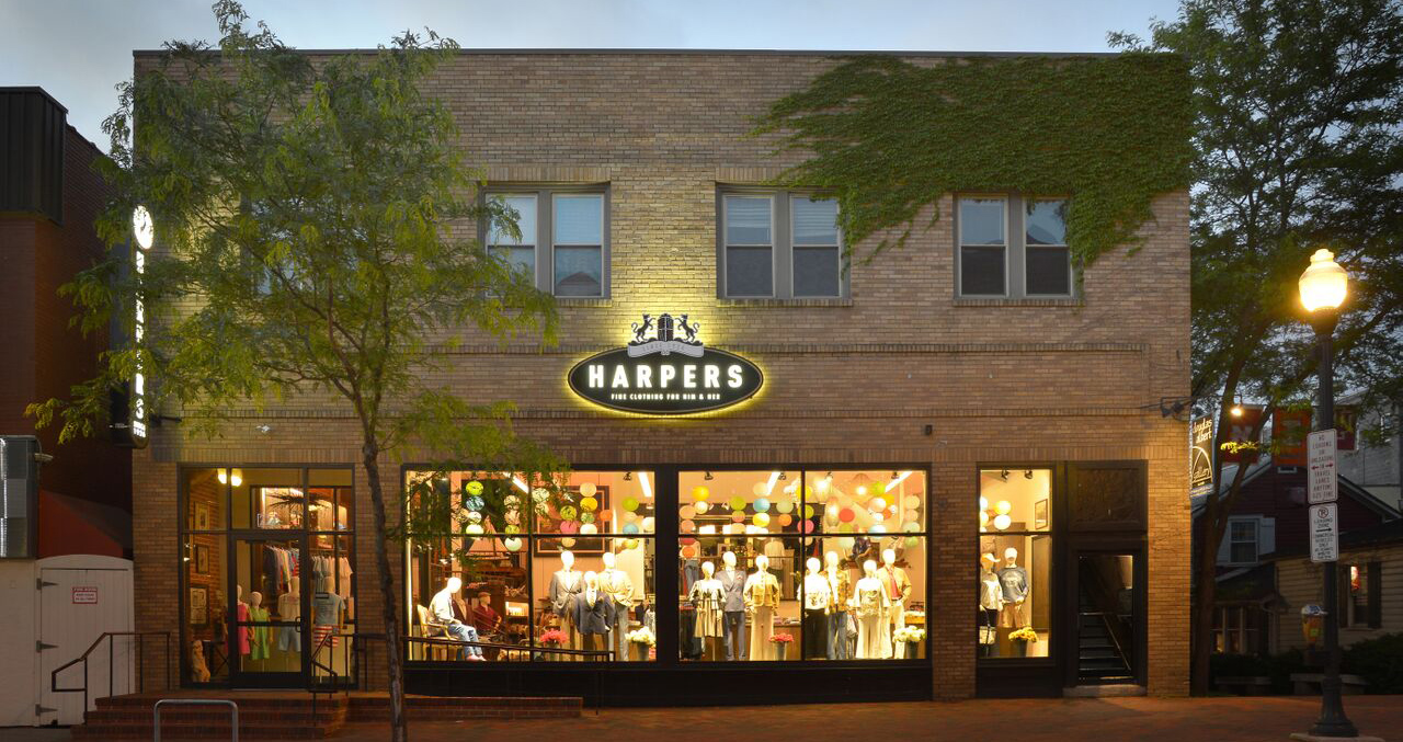 Harpers in downtown State College, PA