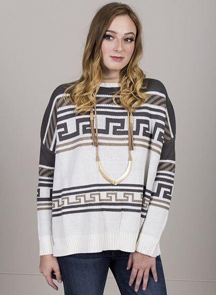 Jack by BB Dakota - Neville Patterned Sweater