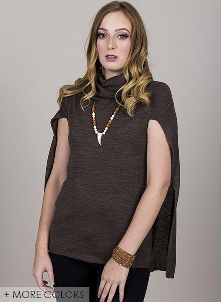 BB Dakota - Ames Capelet Sweater