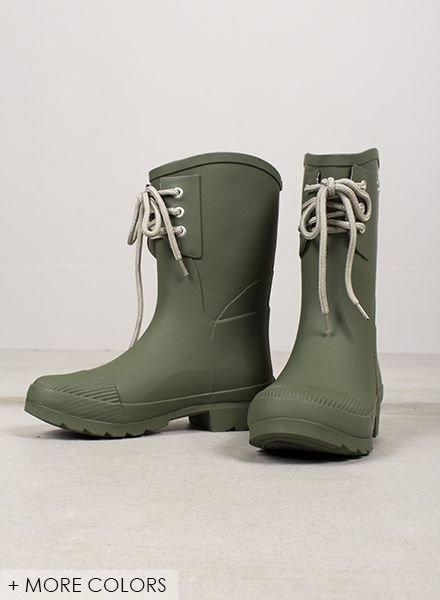 Kelly Rubber Rain Boot
