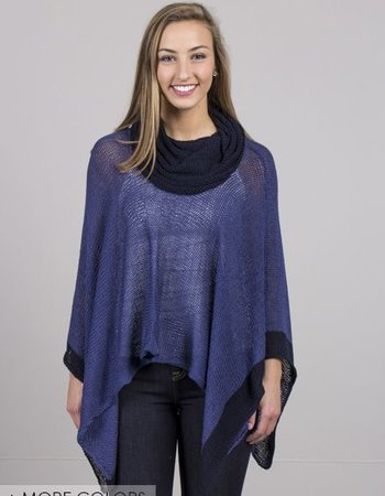 Wooden Ships - Cotton Buckley Poncho