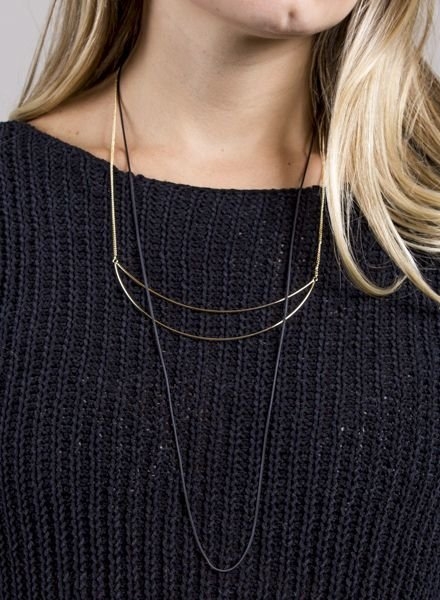 Ann Paige - Danielle Layered Necklace