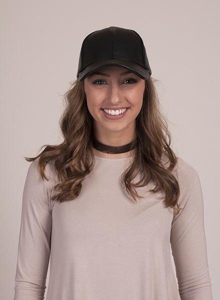 Lauren PU Cap