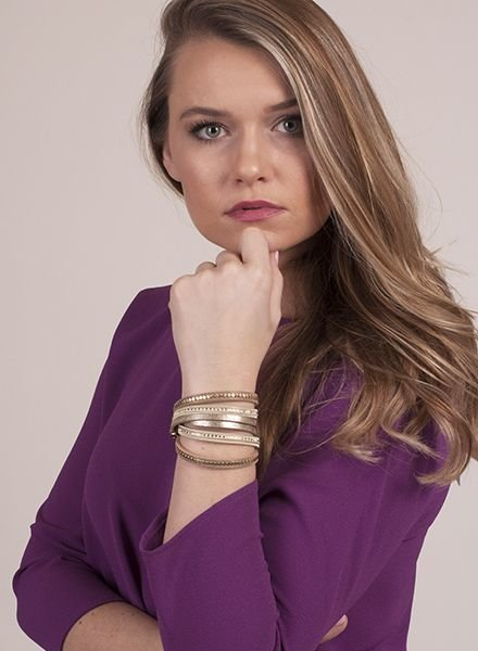 Ann Paige - Gretchen Wrap Bracelet