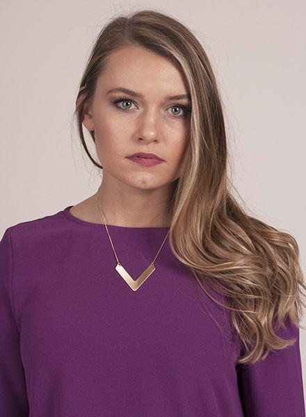 Ann Paige - Heidi V Necklace