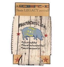 S.L. Revival Co. North Carolina Can Cooler Best in BBQ Pig