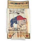 S.L. Revival Co. North Carolina Can Cooler Wild and Free Buffalo