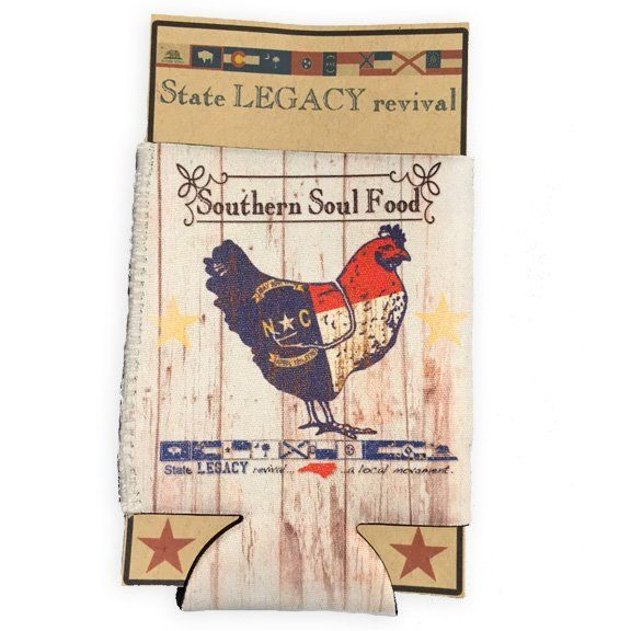 S.L. Revival Co. North Carolina Can Cooler Southern Soul Food Chicken
